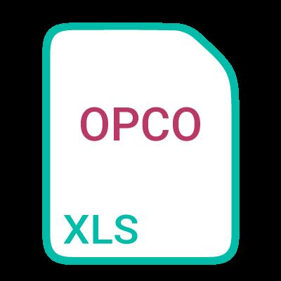 Icone cliquable pour ouvrir le tableau de correspondance IDCC OPCO